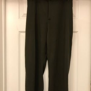 BNWT Women's 24 Petitie Olive Green Dress Pants